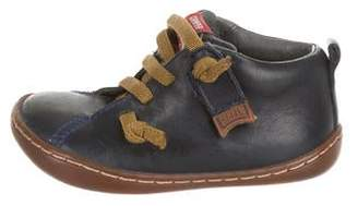 Camper Boys' Leather Sneakers