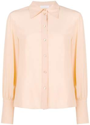 Chloé oversized collar shirt