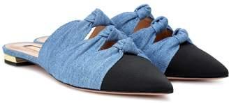 Aquazzura Exclusive to Mytheresa Mondaine slippers