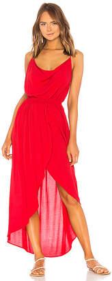 Indah Eden Cowl Neck Maxi Dress