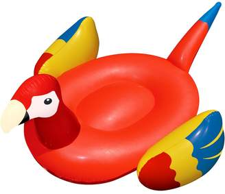Pool' Swimline 93-Inch Giant Parrot Inflatable Ride-On Pool Float