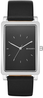 Skagen 'Hagen' Leather Strap Watch, 40mm $165 thestylecure.com