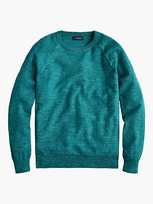 Uneven Budding Crew Neck Jumper