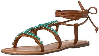Madden-Girl Women's Kalipsoo Gladiator Sandal