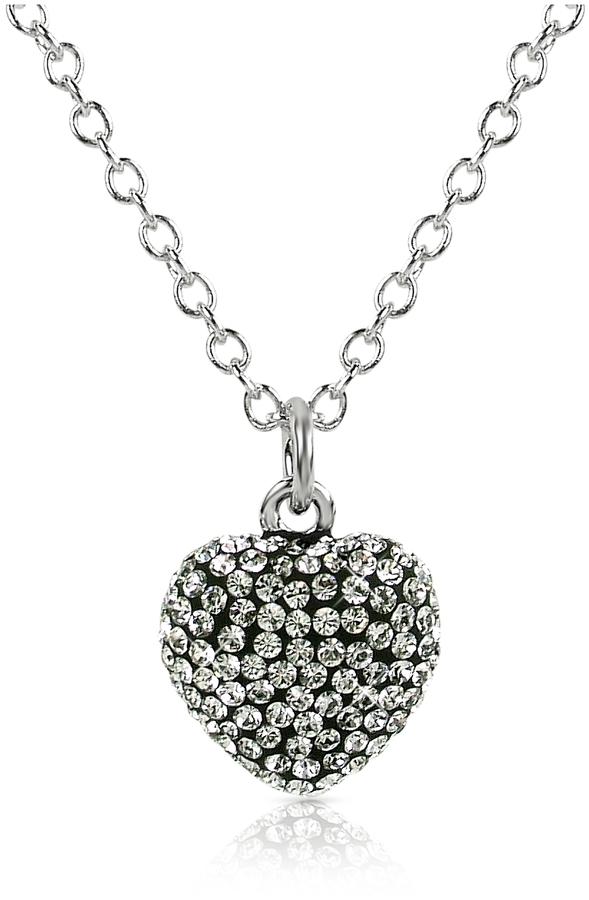Forzieri Gisèle St.Moritz Fantasmania - Crystal Heart Pendant Necklace