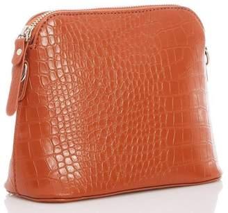 Quiz Tan Faux Leather Chain Strap Bag