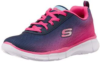 Skechers Girls' Equalizer Multisport Outdoor Shoes, (Neon Pink), 11.5 Child UK