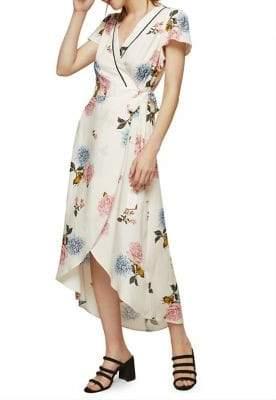 Miss Selfridge Clara Vintage Wrap Dress