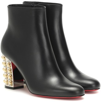 Christian Louboutin Vasa 85 leather ankle boots