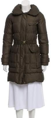 Burberry Longline Puffer Jacket