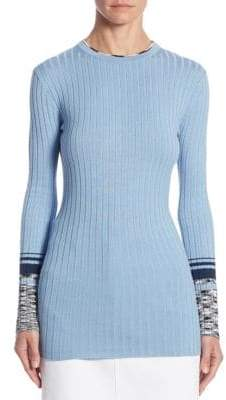 Victoria Beckham Victoria, Ribbed Knit Sweater