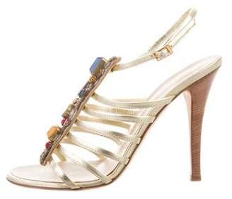 Giuseppe Zanotti Embellished Multistrap Sandals