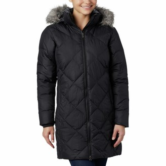 Columbia Women's Icy Heights II Hooded Mid-Length Down Jacket