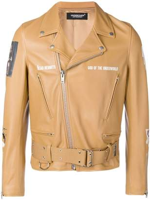 Undercover The Dead Hermits biker jacket