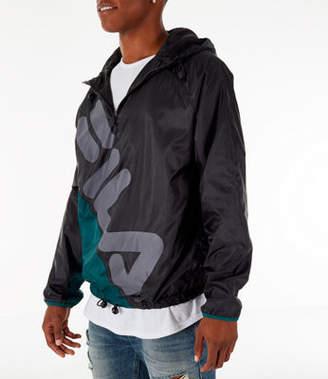 Fila Men's Cohen Quarter-Zip Windbreaker Jacket