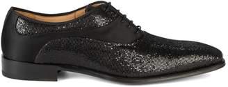 Mezlan Honore Suede & Satin Textile Dress Shoes