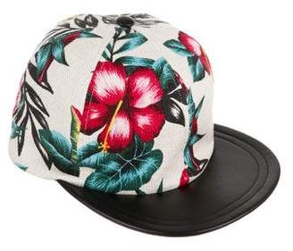 Eugenia Kim Floral Canvas Baseball Cap