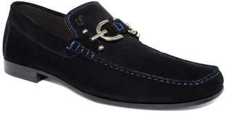 Donald J Pliner Dacio Suede Bit Loafer Men Shoes