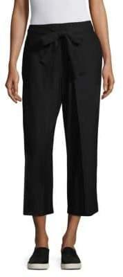 Eileen Fisher Tie Front Crop Pant