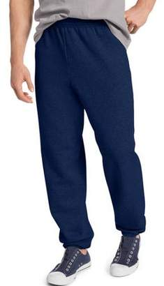 Hanes Big & Tall Men's EcoSmart Elastic Bottom 32 Inch Inseam Sweatpants