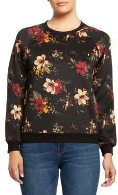 Dex Long-Sleeve Printed Sweatshirt
