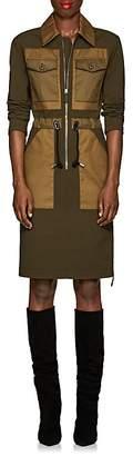 Altuzarra Women's Bowles Crepe & Twill Zip-Front Dress