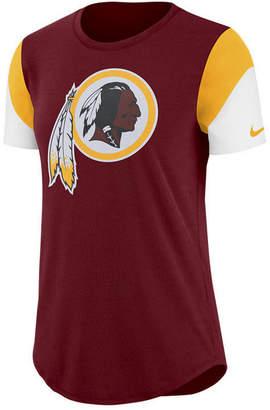 Nike Women Washington Redskins Tri-Fan T-Shirt