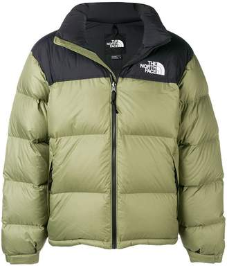 The North Face feather down jacket