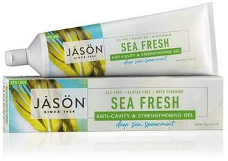 Jason Deep Sea Spearmint Sea Fresh Anti-Cavity & Strengthening Toothpaste - 6oz