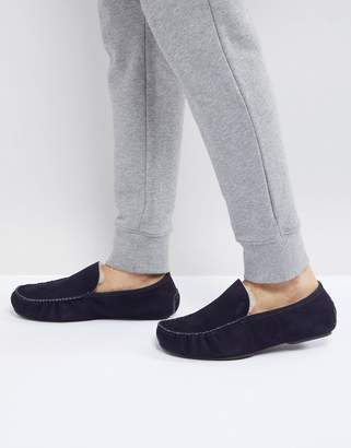 BOSS Relax Slippers in Navy