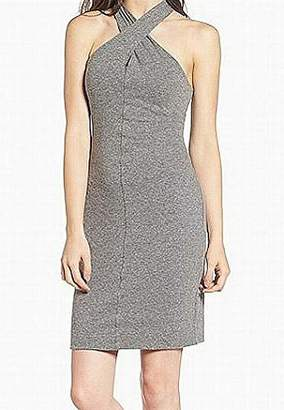 Pam & Gela Women's Twist Collar Dress