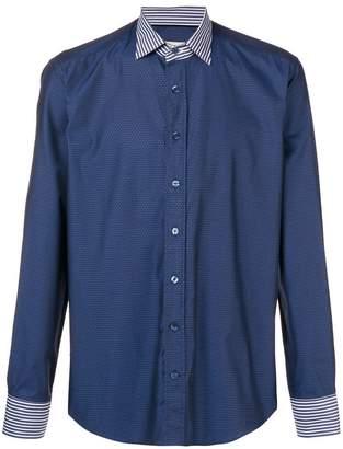 Etro multi-pattern shirt