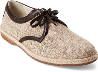 Dolce & Gabbana Natural & Ebony Woven Derby Shoes