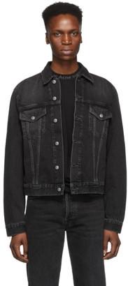 Acne Studios Black Bla Konst Denim 1998 Metal Jacket
