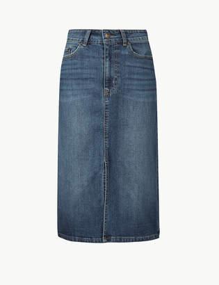 Marks and Spencer Denim Skirt