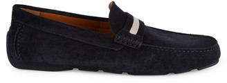 Bally Waltec Suede Loafers