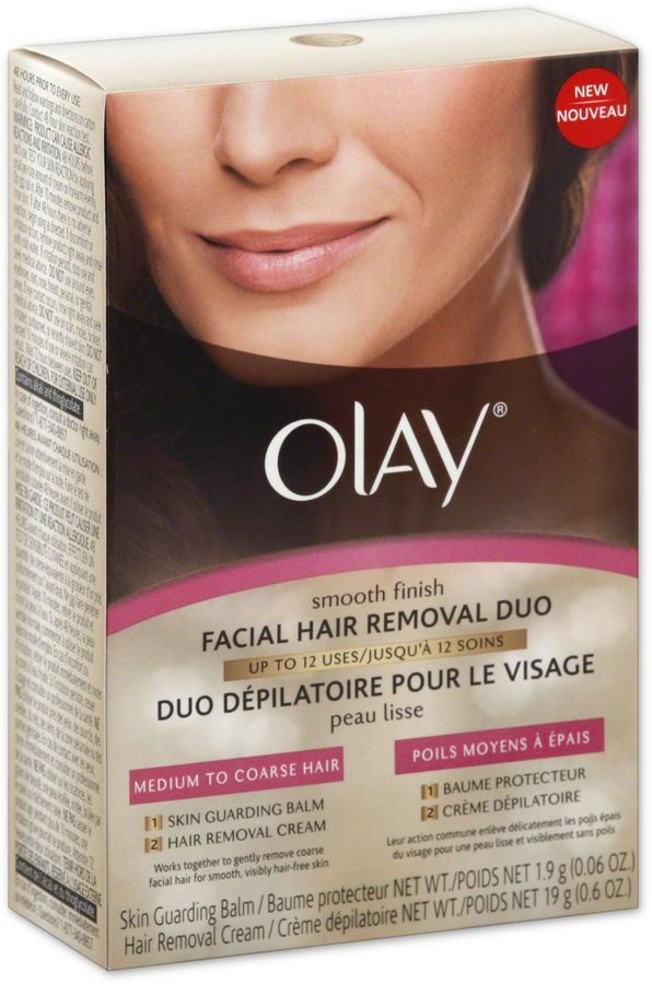 Olay® Smooth Finish Facial Hair Removal Duo for Medium to Coarse Hair