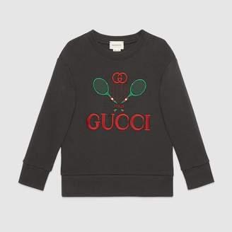 Gucci Children's sweatshirt with Tennis