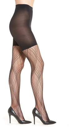 Spanx R) Plaid Lace Tights