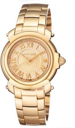 Roberto Cavalli BY FRANCK MULLER Women's Swiss Quartz Bracelet Watch, 35mm