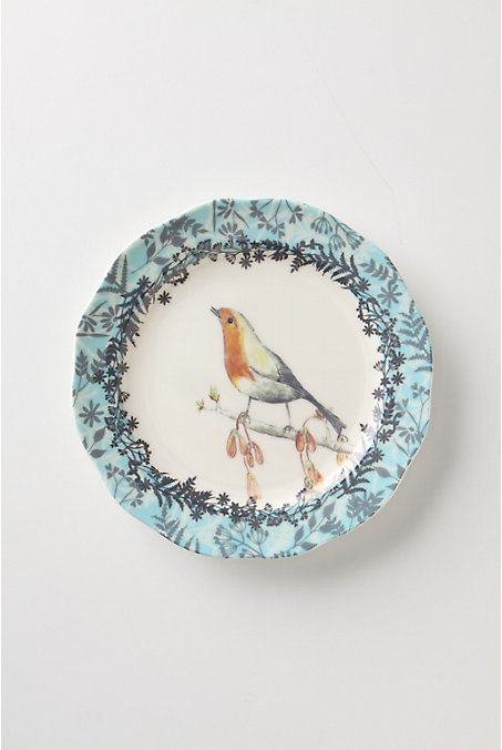 Birdwatcher's Dessert Plates