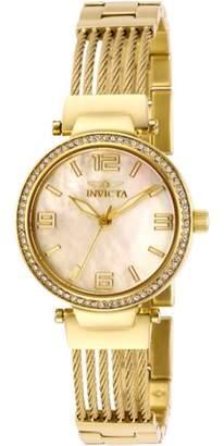 Invicta Women's Bolt Quartz Gold Tone Stainless Steel Watch 29143