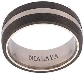 Nialaya Jewelry colour block paneled ring