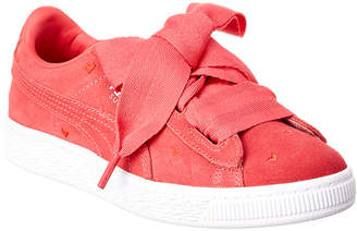 Puma Suede Heart Valentine Sneaker