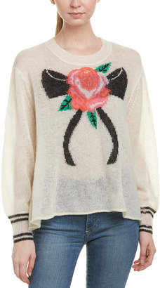 Wildfox Couture Trilogy Wool & Alpaca-Blend Sweater
