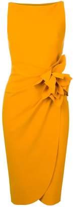 Chiara Boni Le Petite Robe Di wrap flower dress