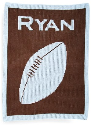 Butterscotch Blankees 'Football' Personalized Blanket $65 thestylecure.com