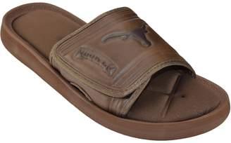 Adult Texas Longhorns Memory Foam Slide Sandals