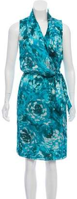 Armani Collezioni Silk Printed Dress