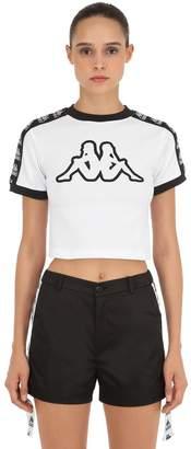 Kappa Cropped Jersey T-Shirt